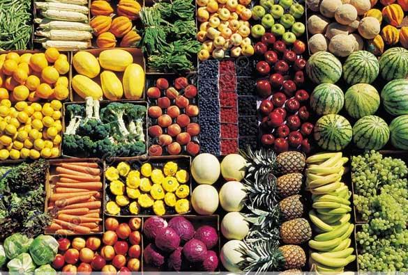 Les légumes réduisent le stress