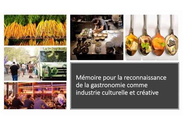 Gastronomie = culture