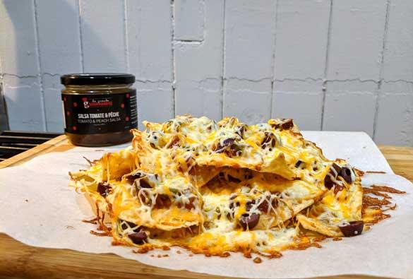 Des nachos à tomber par terre
